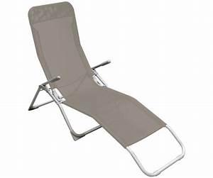 Chaise Longue Bain De Soleil : bain de soleil chaise longue transat terrasse jardin ~ Dailycaller-alerts.com Idées de Décoration