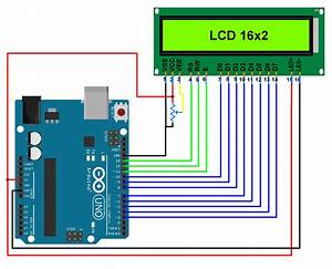 Lcd 16x2 Interfacing With Arduino Uno