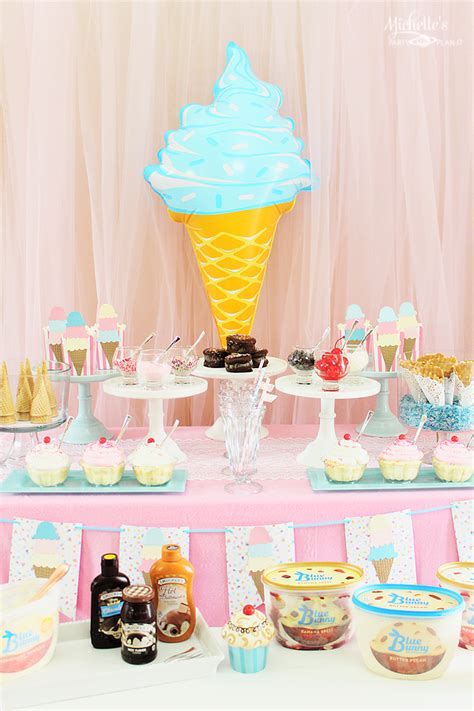 ice cream party ideas decorations party ideas