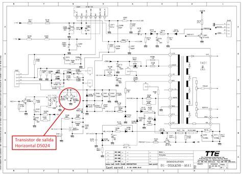solucionado necito diagrama telefunken tk2037 yoreparo