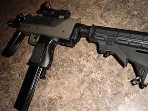AR Adapter & 6 Position Stock for Mac-10 SMGLoading that ...