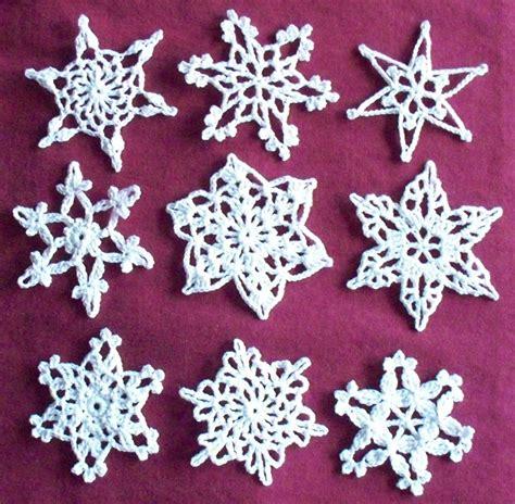 crochet snowflake patterns 171 patterns