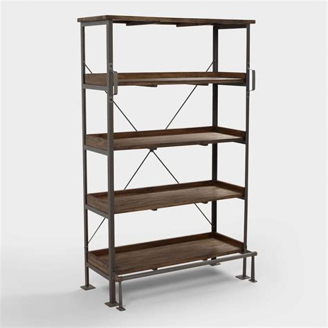 world market bookcase emerson shelving world market