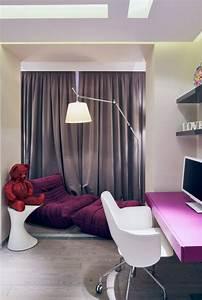 Chambre Enfant Moderne : d co chambre enfant une chambre moderne en violet ~ Teatrodelosmanantiales.com Idées de Décoration
