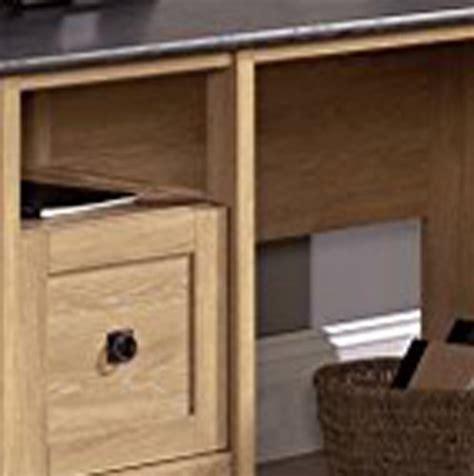 Sauder L Shaped Desk Dover Oak Finish by Sauder August Hill L Shaped Desk Dover Oak Finish