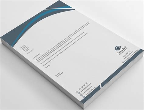 letterhead  word docx stationery templates