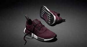 tênis adidas originals nmd vinho original na caixa l