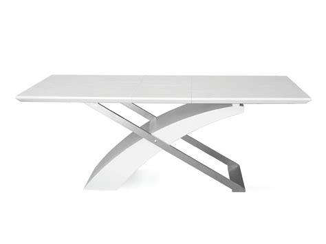 tavolo sala da pranzo allungabile tavolo level bianco frassinato allungabile per sala da