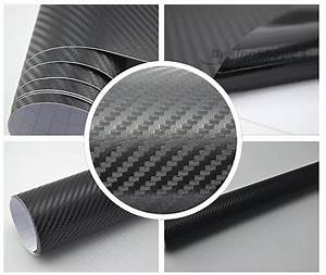 Klebefolie Auto Carbon : 3d carbon folie 200x152cm schwarz klebefolie selbstklebend ~ Kayakingforconservation.com Haus und Dekorationen