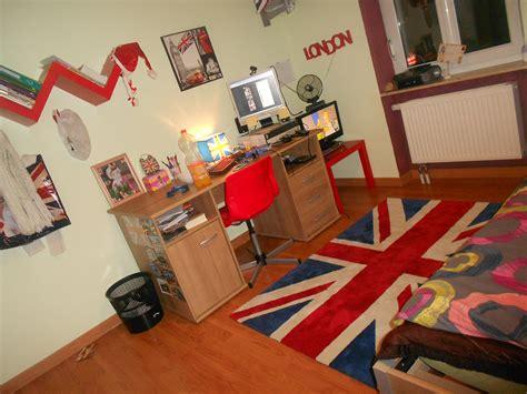 decoration anglaise pour chambre idée chambre ado anglaise