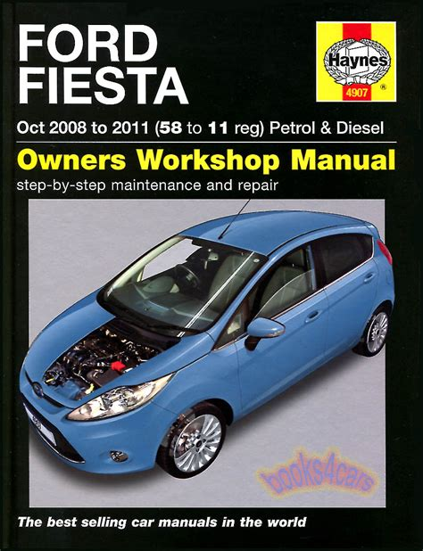 car repair manuals online pdf 1993 ford festiva parental controls fiesta shop manual ford service repair book haynes chilton 2009 2010 2011 ebay