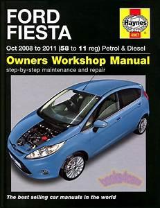 Fiesta Shop Manual Ford Service 2009 2010 2011 Repair Book
