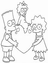 Simpsons Coloring Pages10 Para Colorear Dibujos Febrero Library Clipart Coloringkids sketch template