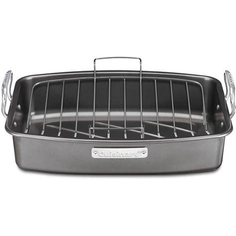 baking pan rack shop cuisinart 2 13 in stainless steel baking pans