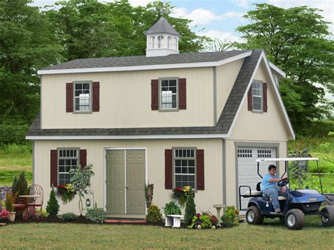 2 Story Garage Packages by Two Story Amish Built Garages From Pa Free Idea Photos