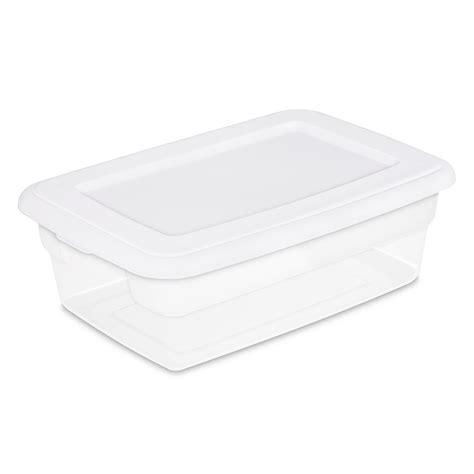 clear plastic storage bin rubbermaid drawer storage home