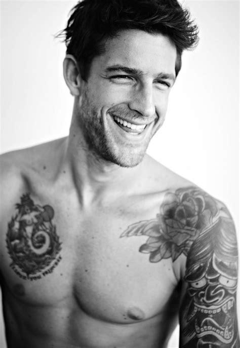 Leandro D Male Model Tattoo Ideas