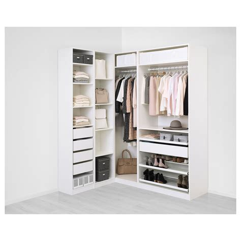 Pax Wardrobe by Pax Corner Wardrobe White Flisberget Light Beige In 2019