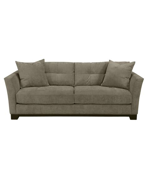 Macys Elliot Sofa by Elliot Fabric Microfiber Sofa