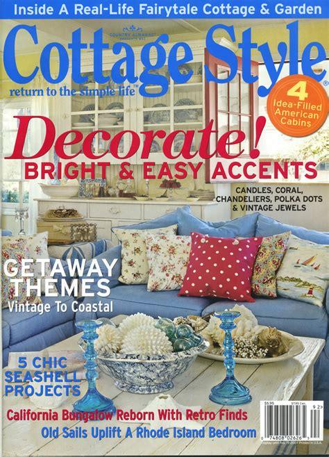 cottage style magazine big news violet cottage