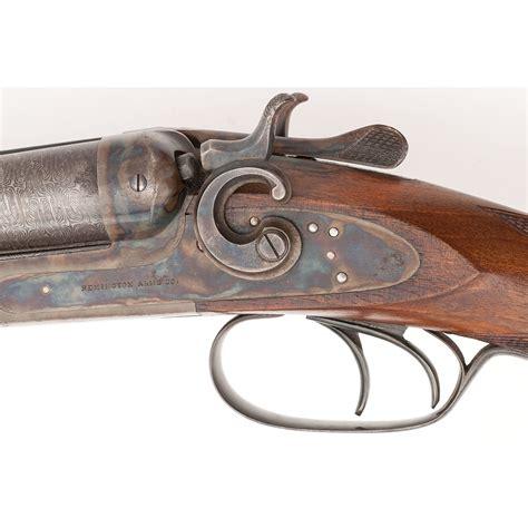 remington model  hammer double barrel shotgun cowans auction house  midwests