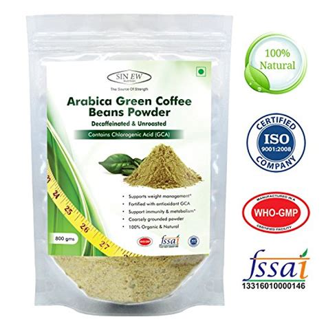compare buy sinew nutrition arabica green coffee beans