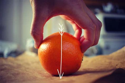 dans quel sens couper une orange en  pour la presser