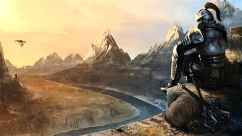 The Elder Scrolls V Skyrim Hd Wallpaper Background