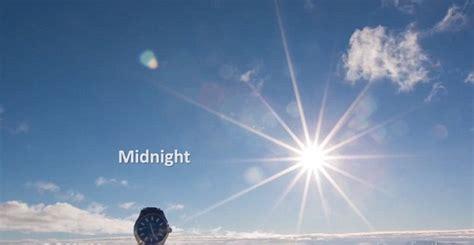 antarctica timelapse captured permanent sunlight hours