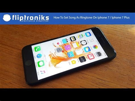 How To Set Song As Ringtone On Iphone 7 Iphone 7 Plus