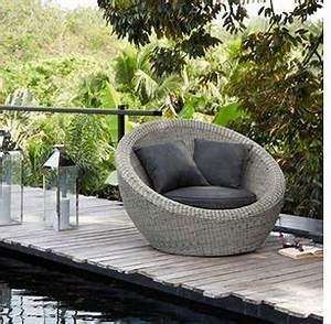 Salon Jardin Maison Du Monde : fauteuils de jardin ronds mobilier canape deco ~ Melissatoandfro.com Idées de Décoration