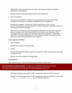 Sample Consulting Enement Letter