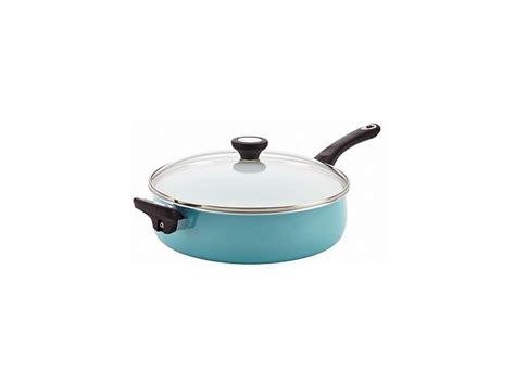 farberware purecook ceramic nonstick cookware  qt covered jumbo cooker   ebay