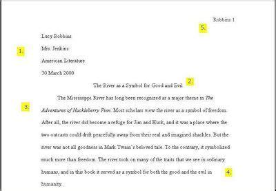 proper paragraph spacing essay