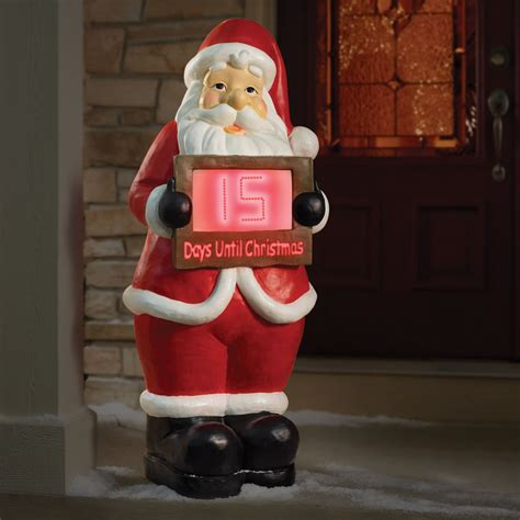 christmas countdown clock outdoor display myideasbedroom com
