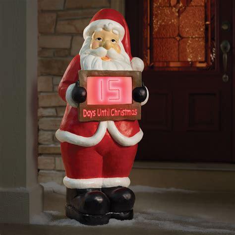 countdown to christmas snowman lighted digital clock yard decor countdown clock outdoor display myideasbedroom