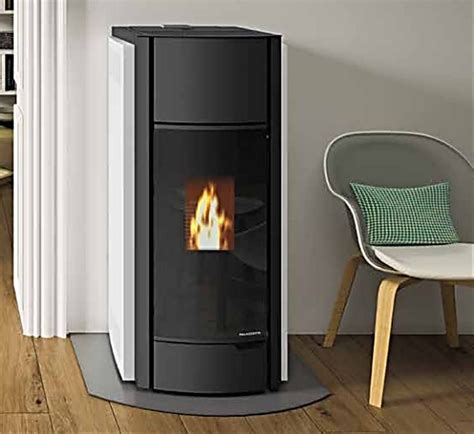 palazzetti julie wood pellet stove interior design