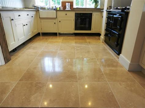 Travertine Floor Repolish In Hook  Berkshire Tile Doctor