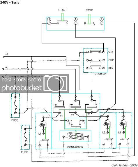10ee starting circuit with allen bradley contactor