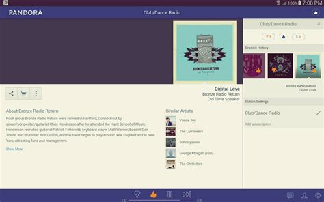 pandora radio for android pandora radio indir android android i 231 in m 252 zik listesi