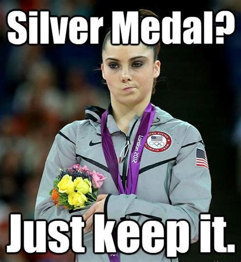Gymnast Meme - i was just used to being in shape and getting out by mckayla maroney like success