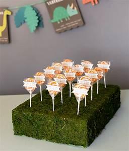styrofoam lollipops