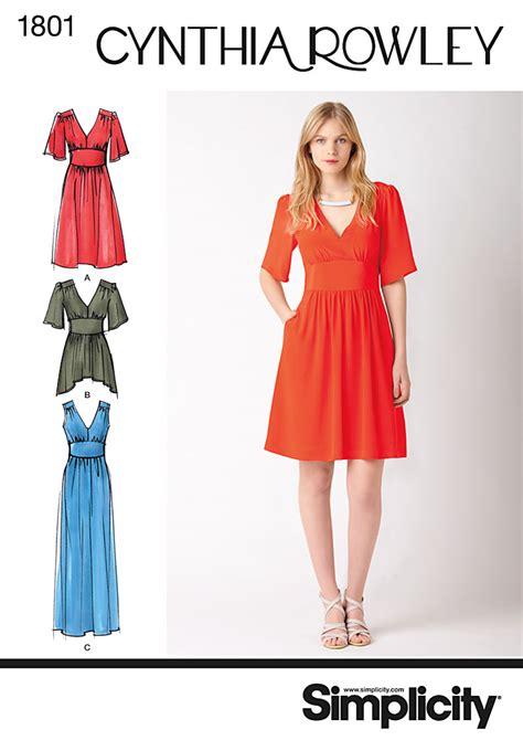 dresses for misses simplicity 1801 misses dress
