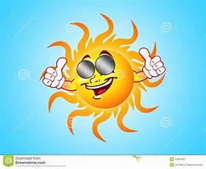 Happy Sun Stock Photography - Image: 12081302