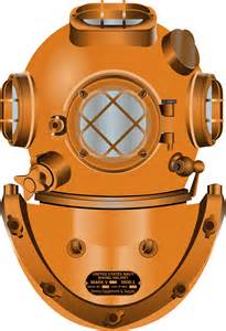 Navy Diving Helmet Clip Art
