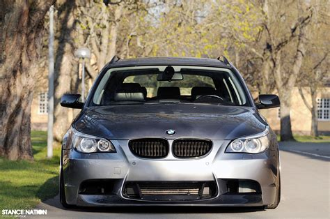 bmw stanced stanced fitted bmw 5 series e61 8 cars pinterest
