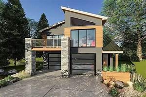 Ultra-modern, Tiny, House, Plan, -, 62695dj