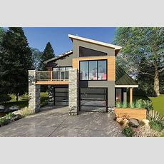 Ultramodern Tiny House Plan  62695dj  Architectural