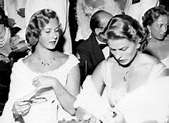 Ingrid Bergman with daughter Pia Lindstrom | Ingrid ...