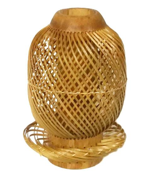 Bamboo Vase by Crafts Arts Brown Bamboo Flower Vase Buy Crafts Arts
